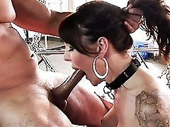 Complete sex change girl getting banged hard