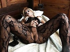 Naughty & horny Carla Renata playing with her cock