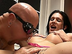 Naughty Morgan Bailey blowing and getting sucked