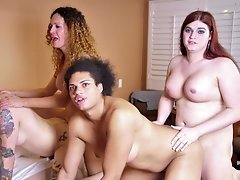 Tiffany's T Orgy is So Fucking Smoldering Hot!