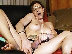 Naughty Jasmine fingering her wet asshole